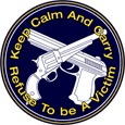 Keep Calm And Carry - Refuse To Be A Victim